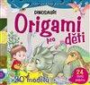 Obálka knihy Origami pro děti – Dinosauři