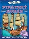Obálka knihy Pirátský koráb - postav si sám