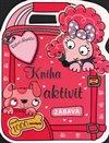 Obálka knihy Růžoví chlupáčci - kniha aktivit se samolepkami