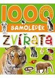 Obálka knihy 1000 samolepek zvířata