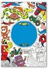 Obálka knihy Svět kluků – Domaluj si a vybarvi