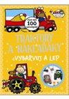 Obálka knihy Traktory a náklaďáky - vybarvuj a lep
