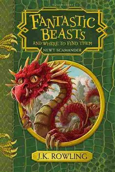 Fantastic Beast and Where to Find Them Hogwarts Library - Joanne K. Rowlingová