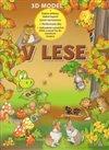 Obálka knihy V lese - 3D model