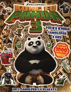 Kung Fu Panda 3.. Velká kniha samolepek a her