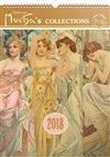 Obálka knihy Kalendář nástěnný 2018 - Alfons Mucha