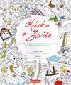 Obálka knihy Kráska a zvíře, klasická pohádka a kouzelné omalovánky