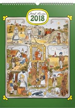 Kalendář nástěnný 2018 Josef Lada - Měsíce