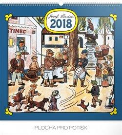 Kalendář nástěnný 2018 Josef Lada - Náves
