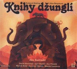 Knihy džunglí, CD - Jitka Škapíková, Rudyard Kipling