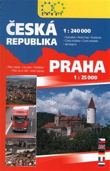 Autoatlas ČR + Praha A5. 1 : 240 000