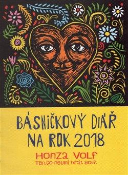 Básničkový diář na rok 2018 - Honza Volf