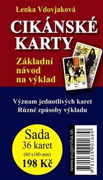 Cikánské karty. Základní návod na výklad + sada 36 karet - Lenka Vdovjaková