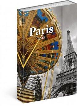Týdenní magnetický diář Paříž 2018