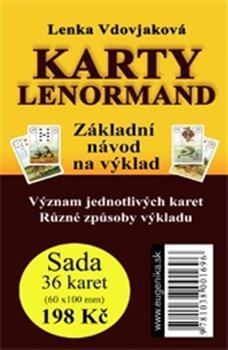 Karty Lenormand. Základní návod na výklad