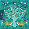 Obálka knihy Mammadiář 2018 - ptáci