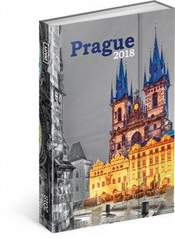 Týdenní magnetický diář Praha 2018