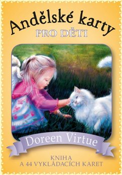 Andělské karty pro děti. Kniha a 44 karet - Doreen Virtue