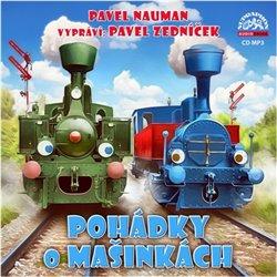 Pohádky o Mašinkách, CD - Pavel Nauman
