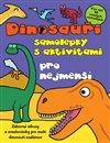 Obálka knihy Dinosauři – samolepky s aktivitami pro nejmenší