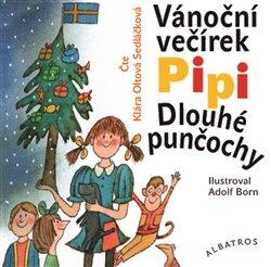 Vánoční večírek Pipi Dlouhé punčochy, CD - Astrid Lindgrenová