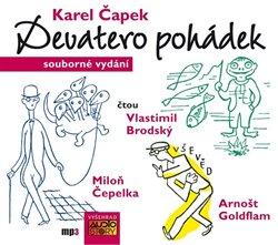 Devatero pohádek, CD - komplet. a ještě jedna jako přívažek od Josefa Čapka, CD - Karel Čapek, Josef Čapek