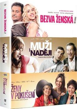 3 DVD Bezva ženská na krku/ Muži v naději/ Ženy v pokušení