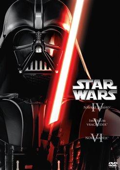 3 DVD Star Wars (IV, V, VI)