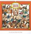 Obálka knihy Nástěnný kalendář Josef Lada – Hostinec 2019