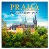 Obálka knihy Poznámkový kalendář Praha mini 2019