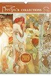 Obálka knihy Nástěnný kalendář Alfons Mucha 2019, 33 x 46 cm