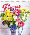 Obálka knihy Nástěnný kalendář Květiny 2019