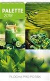Obálka knihy Nástěnný kalendář Paleta 2019