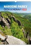 Obálka knihy Nástěnný kalendář Národní parky Čech a Moravy 2019