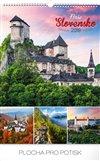 Obálka knihy Nástěnný kalendář Naše Slovensko 2019