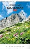 Obálka knihy Nástěnný kalendář Národné parky Slovenska SK 2019