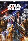 Obálka knihy Nástěnný kalendář Star Wars – Plakáty 2019
