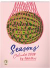 Obálka knihy Nástěnný kalendář Seasons – Studio Tabletters 2019