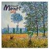Obálka knihy Poznámkový kalendář Claude Monet 2019