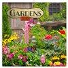 Obálka knihy Poznámkový kalendář Zahrady 2019