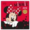 Obálka knihy Poznámkový kalendář Minnie 2019