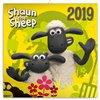 Obálka knihy Poznámkový kalendář Ovečka Shaun 2019