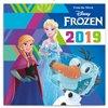 Obálka knihy Poznámkový kalendář Frozen – Ledové království 2019, s  50 samolepkami