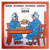Obálka knihy Poznámkový kalendář Švejk – Josef Lada 2019