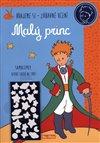 Obálka knihy Malý princ - Kniha aktivit, modré svítící samolepky