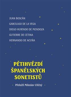 Obálka titulu Pětihvězdí španělských sonetistů