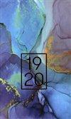 Obálka knihy 18měsíční diář Petito – Marble 2019/2020