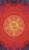 Obálka knihy 18měsíční diář Petito – Mandala 2019/2020