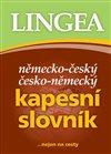 Obálka knihy Německo-český, česko-německý kapesní slovník