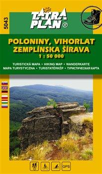 Obálka titulu Poloniny, Vihorlat, Zemplínska šírava 1:50 000